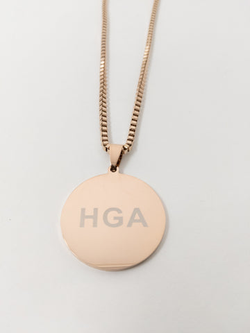 HGA Courageous - Rose Gold Necklace