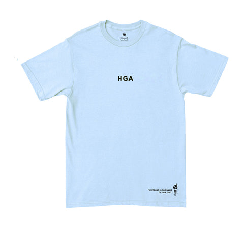 We Still Believe Monster Baby Blue Tee