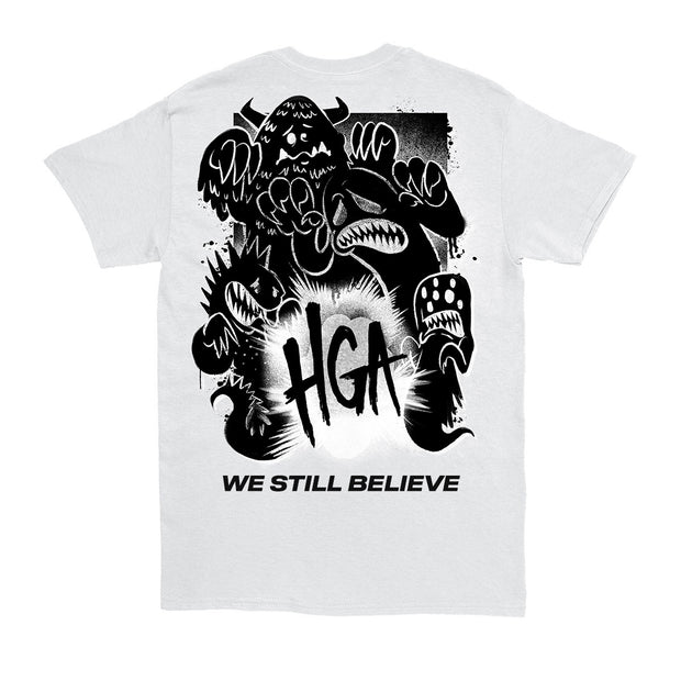 We Still Believe Monster White Tee
