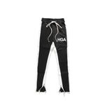 HGA Black Ankle Zip Pants