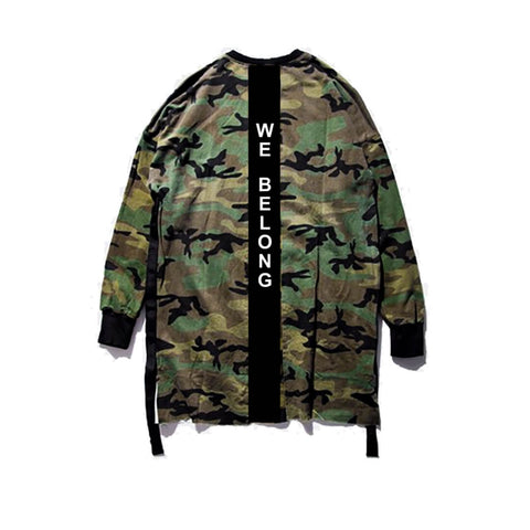HGA We Belong Camo Crewneck
