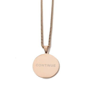 HGA Continue - Rose Gold Necklace