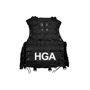 HGA Tactical Black Vest