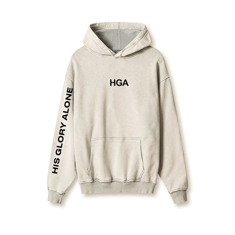 KB His Glory Alone Sand Hoodie