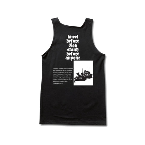 Kneel Before God Tanktop Black
