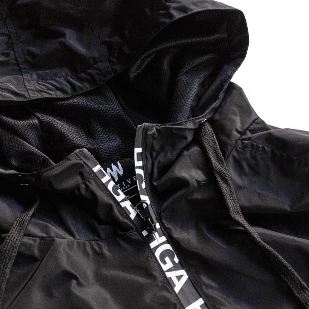 HGA Black Performance Windbreaker