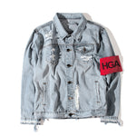 HGA No Fear Denim Jacket
