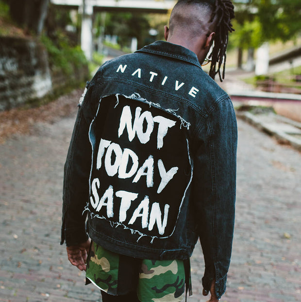 Image result for not today satan picture