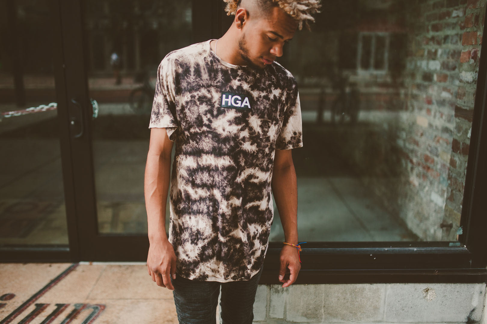 HGA Embroidered Desert Storm Tee