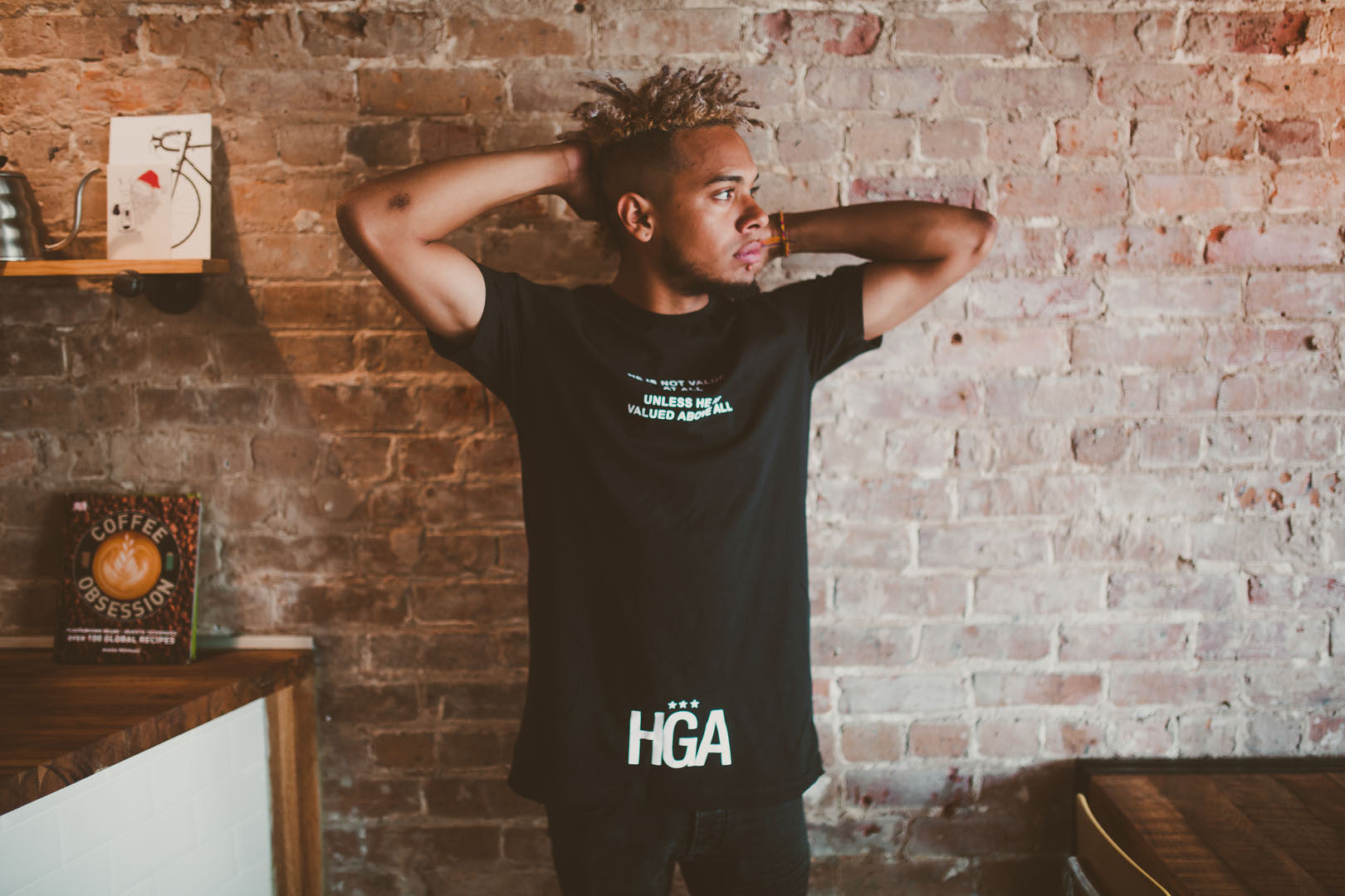 HGA Value Him Tee