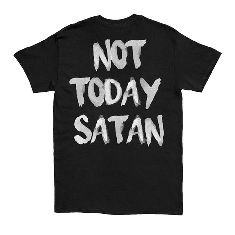 HGA Not Today Satan Black Tee