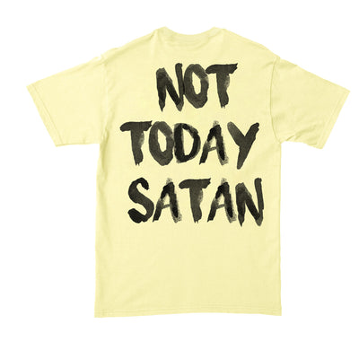HGA Not Today Satan Yellow Tee