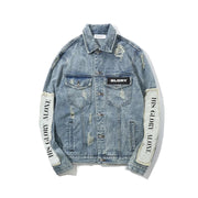 HGA He is King Denim Jacket