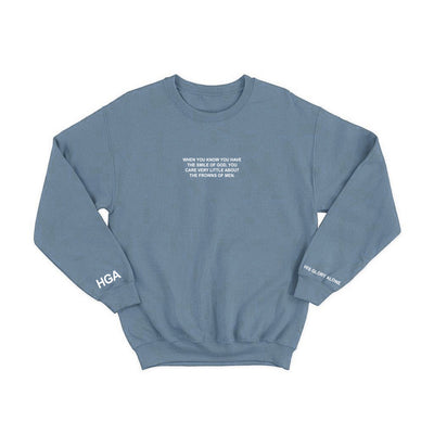 HGA Smile of God Crewneck Teal