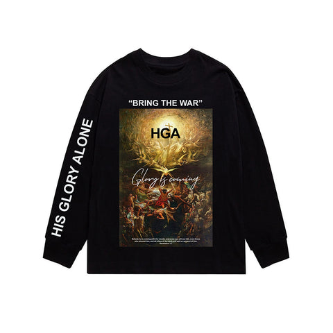 HGA Bring the War Black Tee
