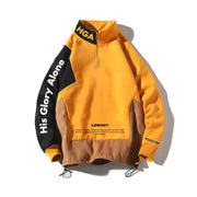 HGA Legacy Yellow Pullover Jacket
