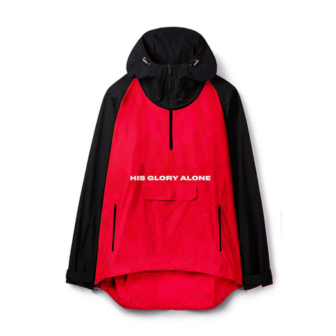 HGA Anorak Red Windbreaker