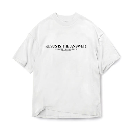 Jesus is the Answer Tee