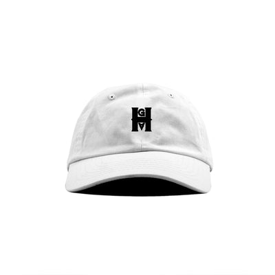 HGA White Dad Hat