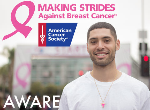 AWARE Causes Jewelry at American Cancer Society Event - Making Strides Against Breast Cancer