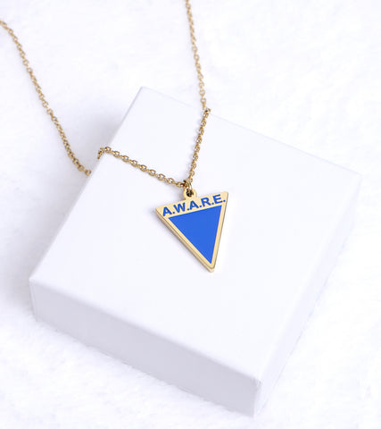 AWARE Blue Necklaces - Causes