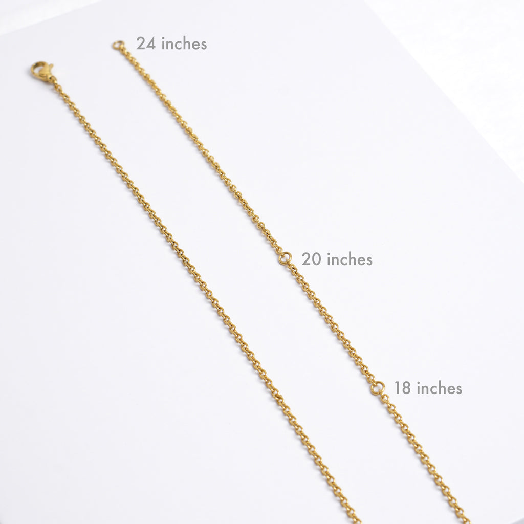 AWARE Yellow Necklaces - Causes