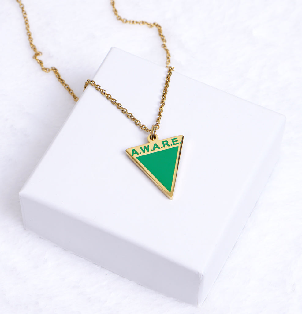 AWARE Green Necklaces - Causes
