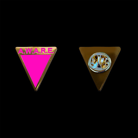 Pink Awareness Pin