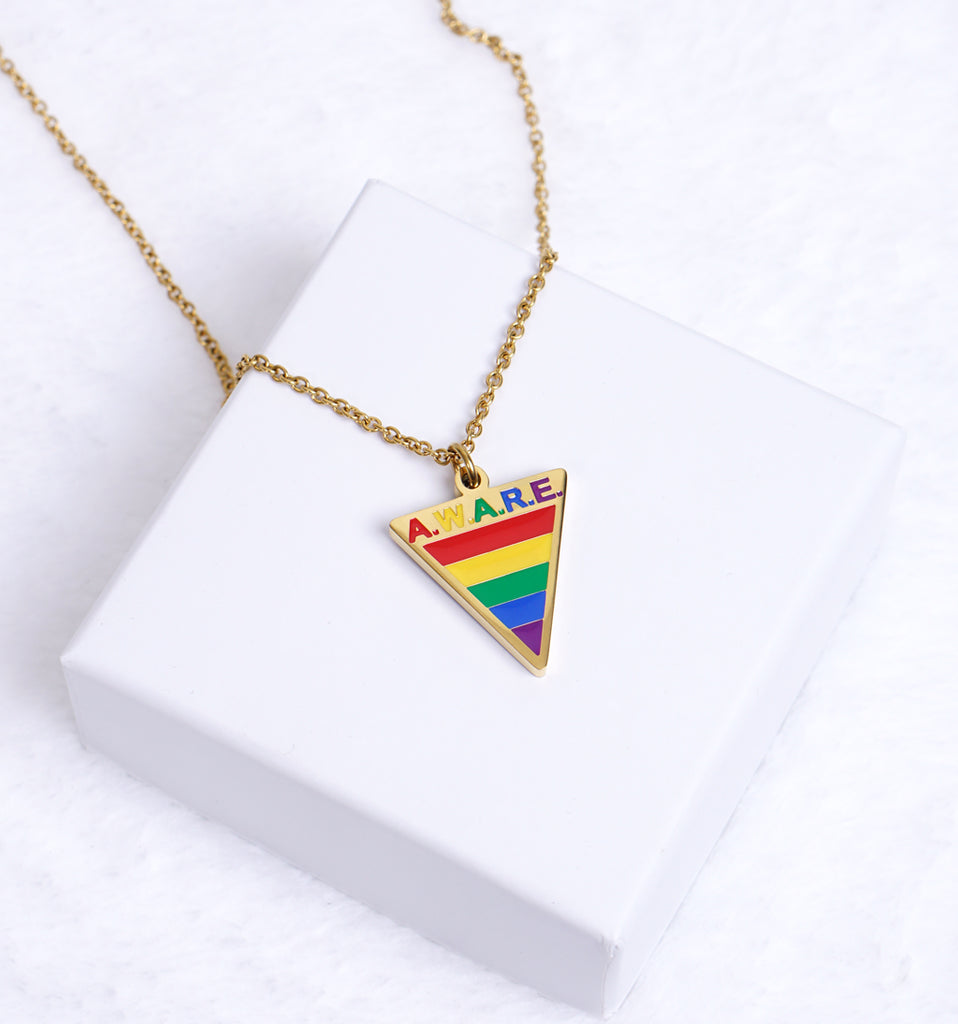 AWARE LGBTQ Necklaces