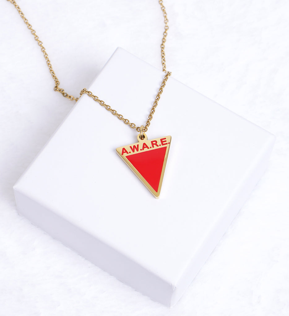 AWARE Red Necklaces