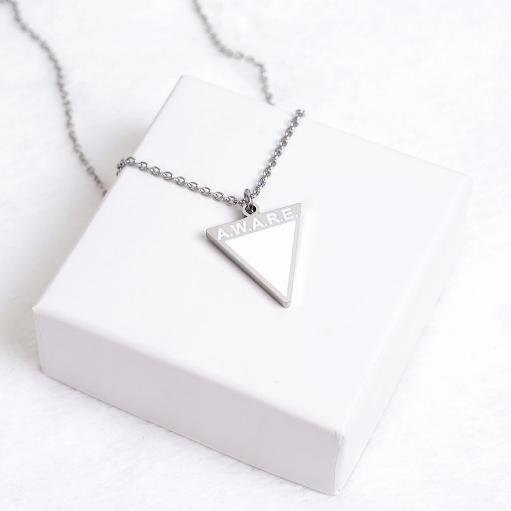 AWARE White Necklaces - Silver