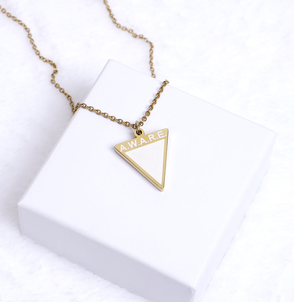 AWARE White Necklaces