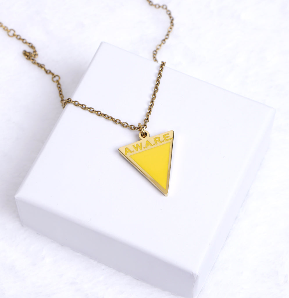 AWARE Yellow Necklaces