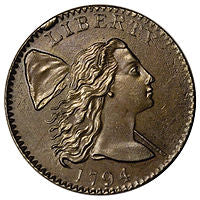 capped bust large cent