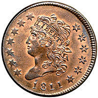 classic liberty head large cent