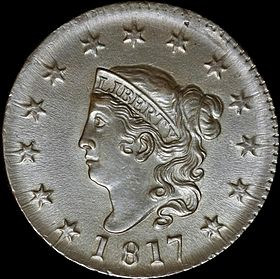 matron head large cent