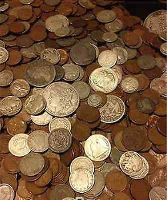 Old us coin hoard 11 coins 0ver 100 years old   silver included lo combined ship