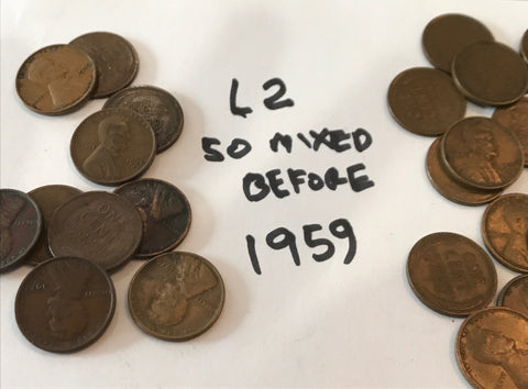 100 Old Wheats Dated before 1959