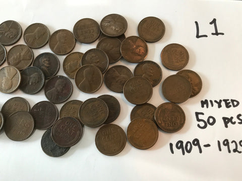 50 Old Wheats - At least 5 Dated Before 1929