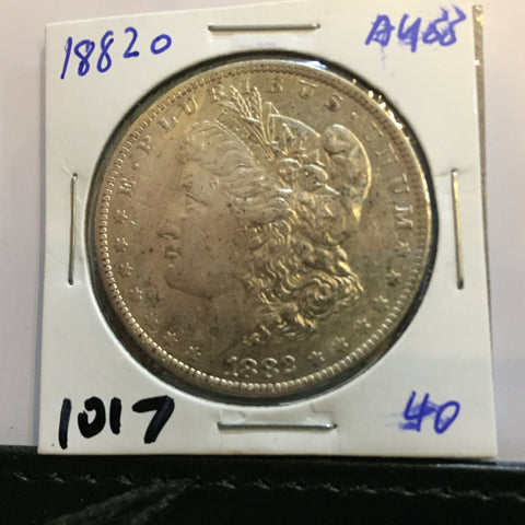 1882 Morgan Dollar O Almost uncirculated - new orleans