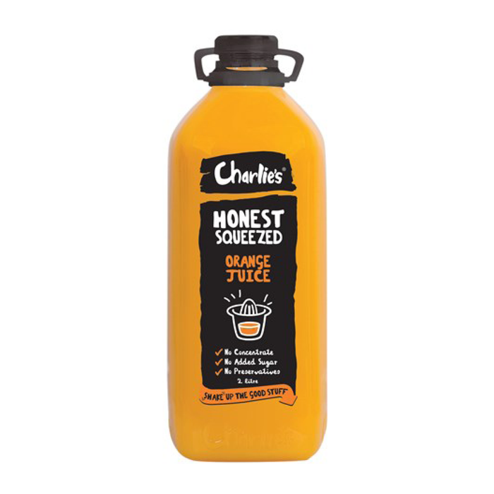 Orange Juice Charlies 2L