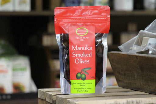 Olives - Telegraph Hill - Manuka Smoked, 300g