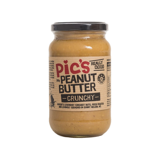 Peanut Butter - Pic's - Crunchy 380g