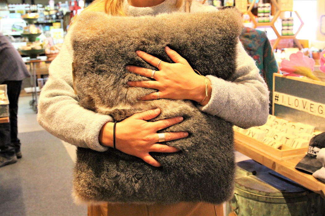 Cushion - Possum Fur Large
