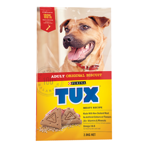 Dog food -Purine - Tux Meaty Biscuits 2.8kg