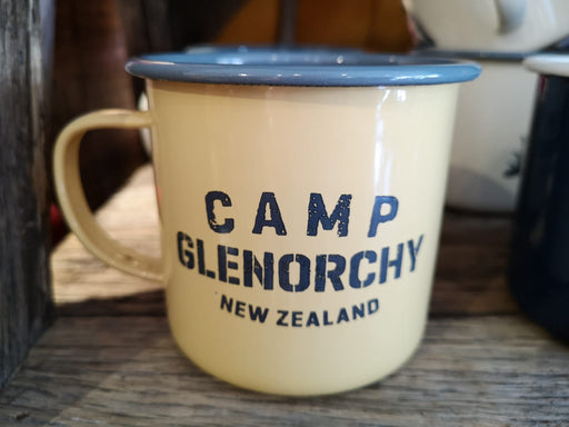 Mug - Camp Glenorchy - Enamel