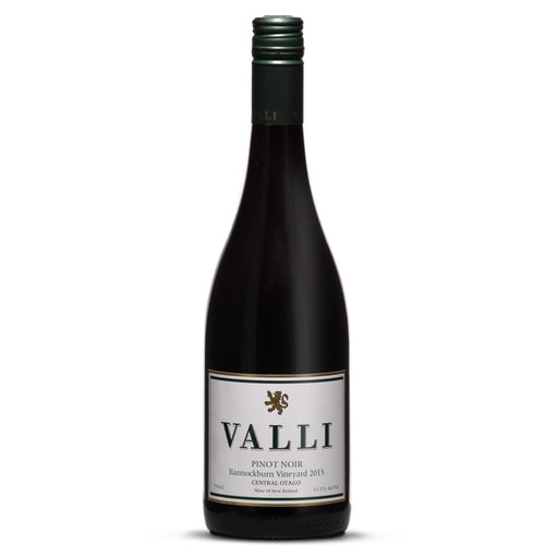 Wine - Valli Bannockburn Vineyard Pinot Noir 2017