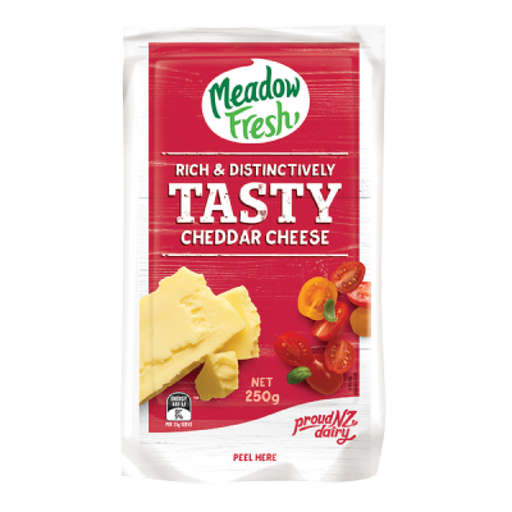 Tasty Cheese Meadow Fresh Block 250g