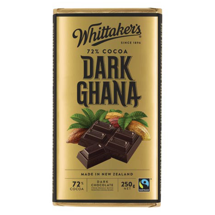Chocolate - Whittakers Block 250g