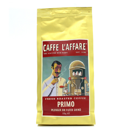 L'AFFARE Primo Plunger & Filter Coffee 200g